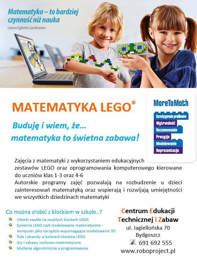 Matematyka w kolorach klocków LEGO®