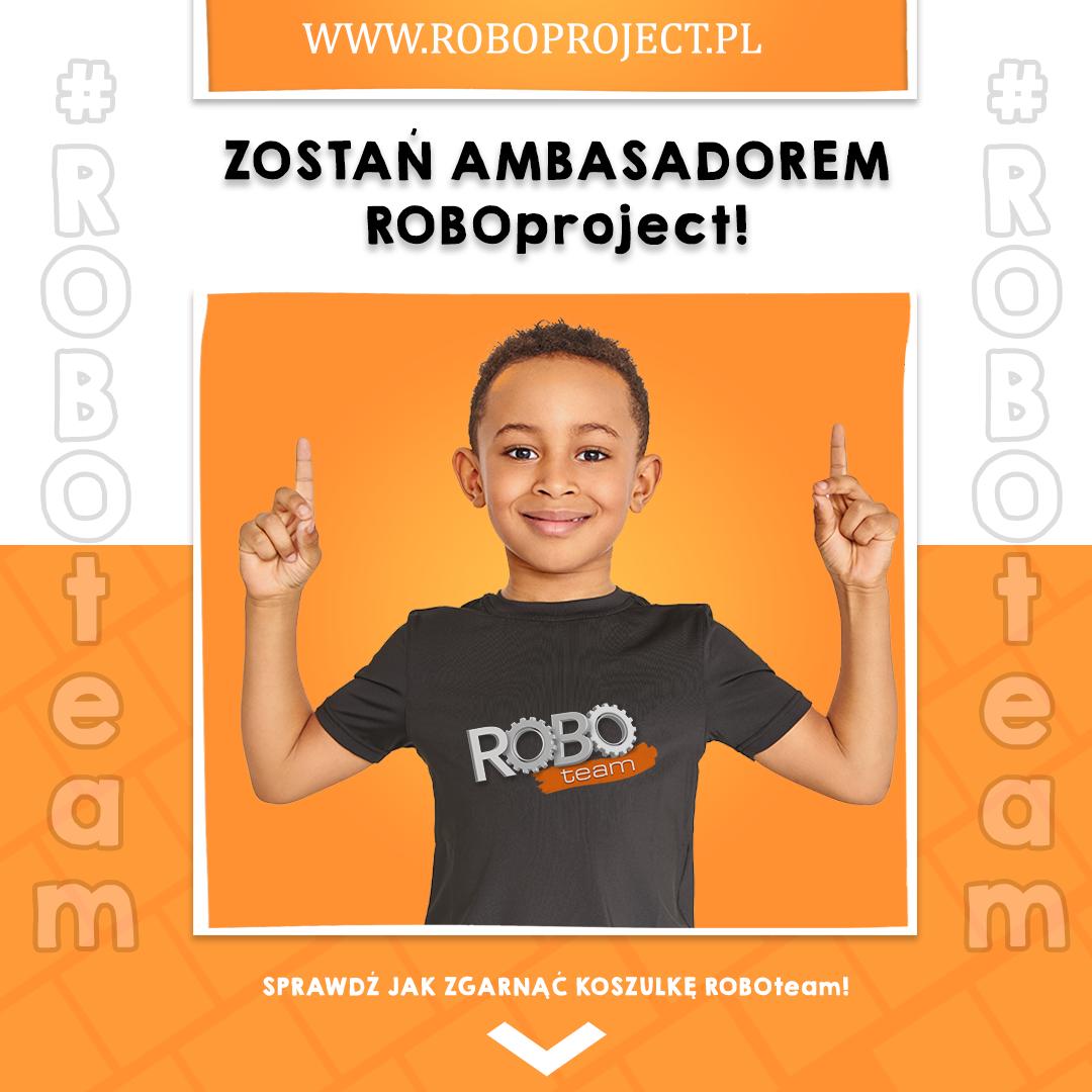 Zostań AMBASADOREM ROBOproject